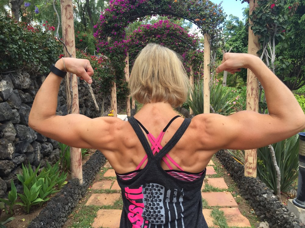 Feeling jacked in Tenerife, Spain