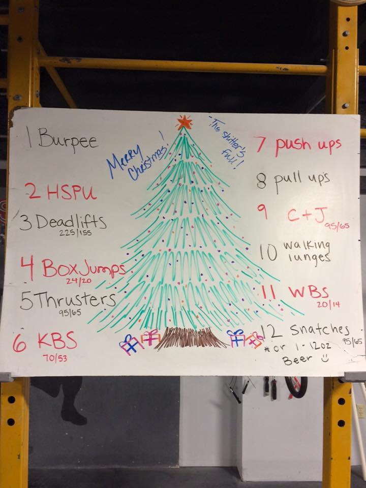 12 Days Of Christmas Crossfit Wod.History Of The 12 Days Of Christmas Wod And Holiday Details