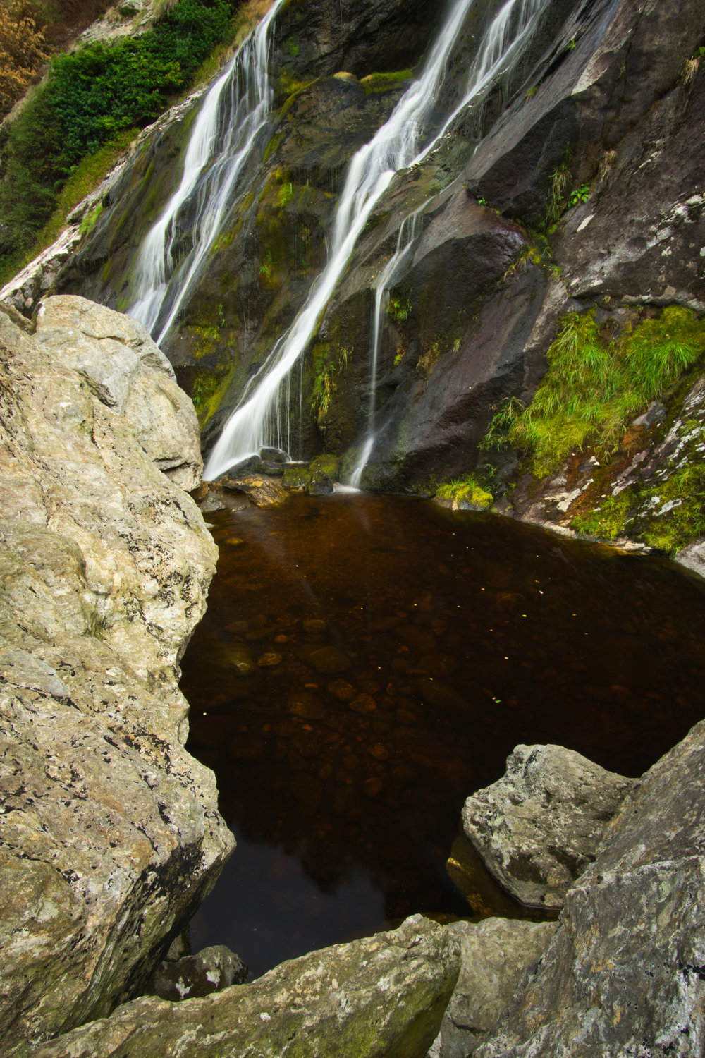 powerskourt waterfall