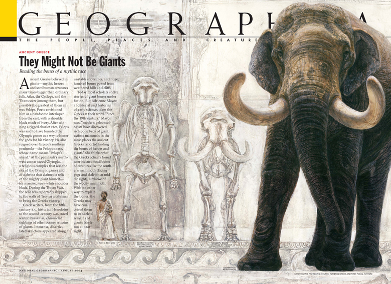 Olympic Giant, article for National Geographic Magazine