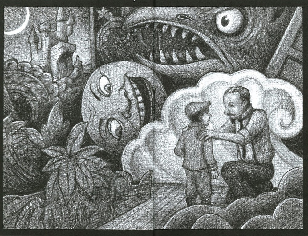 The Adventures of Hugo Cabret, by Brian Selznick