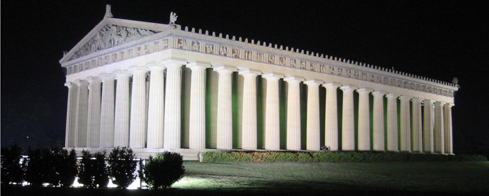 Though made of poured concrete instead of marble, a replica of the Parthenon resides in Nashville, Tennessee. Aristotle would have felt at home at the Tapestry Conference in Nashville, which focused on a vital new form of rhetoric in the information age: telling complex stories in visual form, with data as the source.