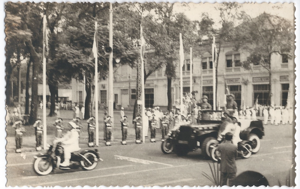 Independence Day parade in Saigon