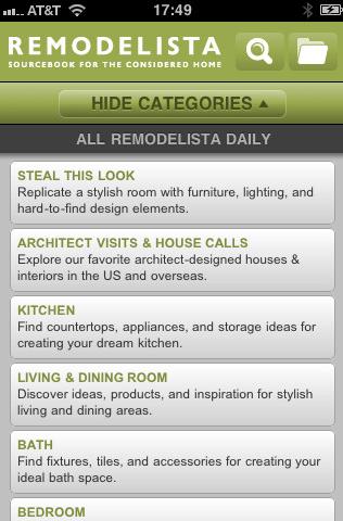 Remodelista App