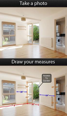 Photo Measure App