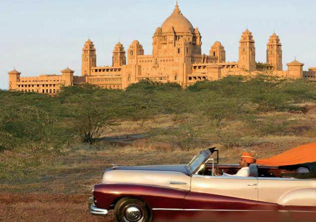 Umaid Bhavan Vintage Cars