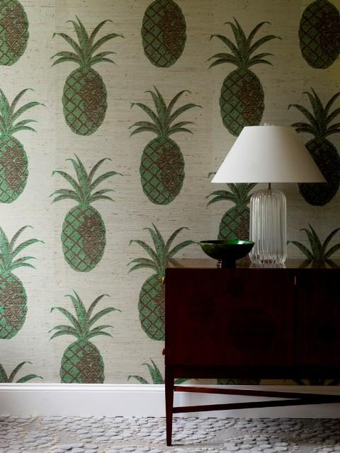 Green Pineapple wallpaper
