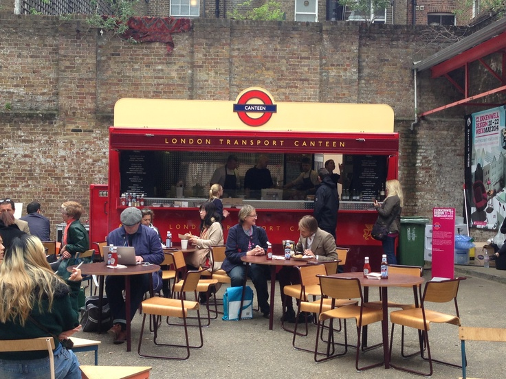 Mobile Canteen in collaboration with Transport for London