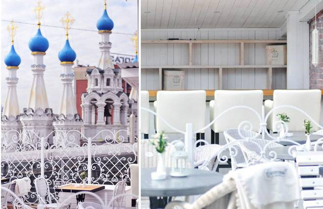 "Rooftop Bars, Schastye na Kryshe (""Happiness on the Rooftop""), a Moscow"