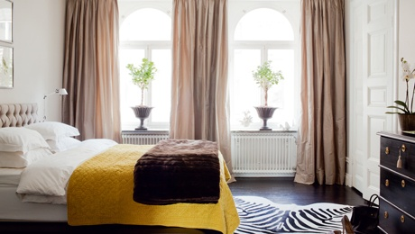 Yellow Bed Spread