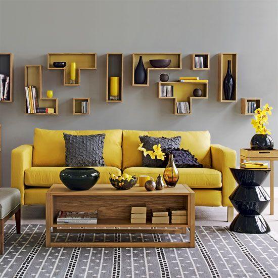 Yellow Mid-Century