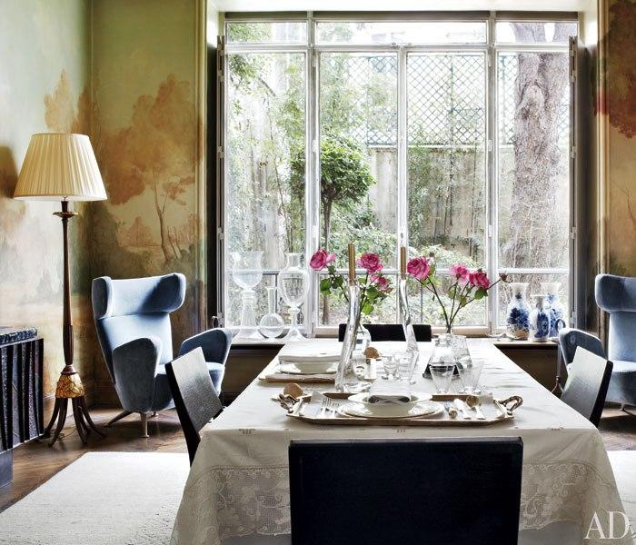 Stefano Pilati Dining Room