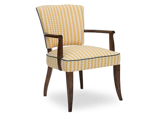 Shimla Chair - Gold Cranes