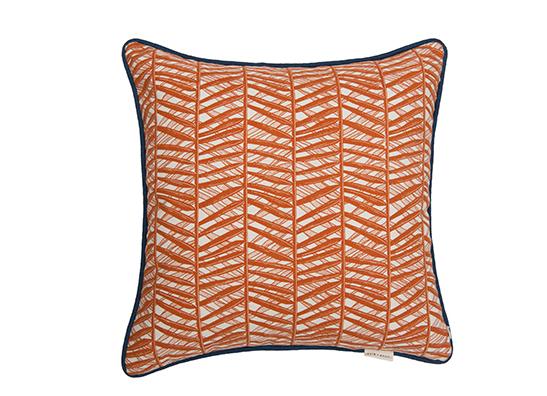 Bamboo Cushion Rust