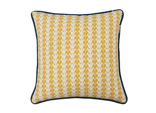 Gold Crane Cushion