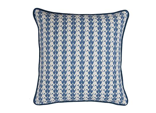blue crane cushion