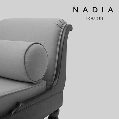 Our Nadia Chaise Longue is a beautiful handcrafted chair designed and made by our sister company Iqrup Designs. 😍😍 #classicdesign #wellmade #handcrafted #handmade #furniture #chaiselongue #chair #fabric #goldchair #gold #orange #blue #woodfurniture #modernhome