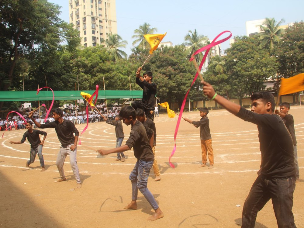 Dance performance by our children