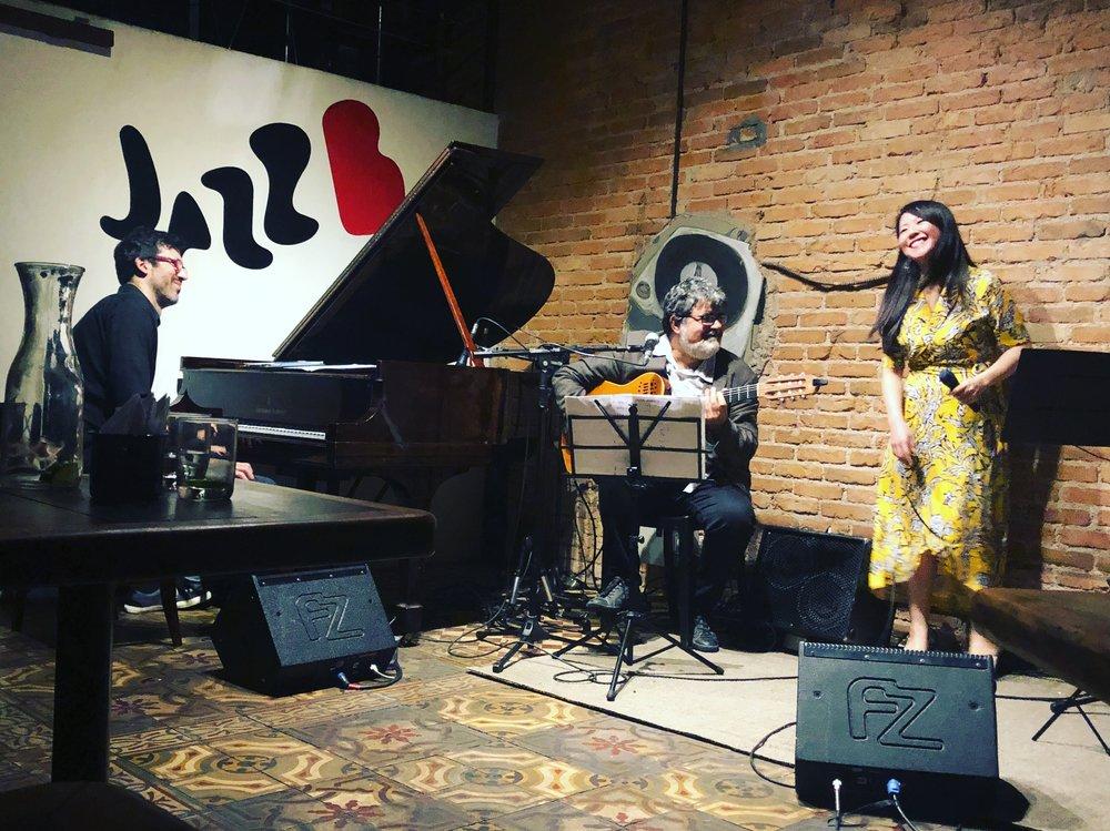 JazzB in São Paulo - Aug 2018