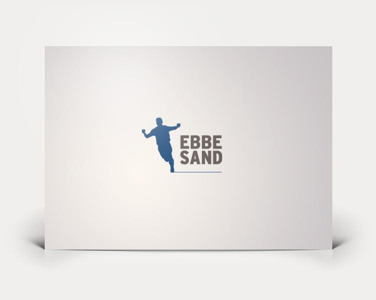 Ebbe Sand logo design
