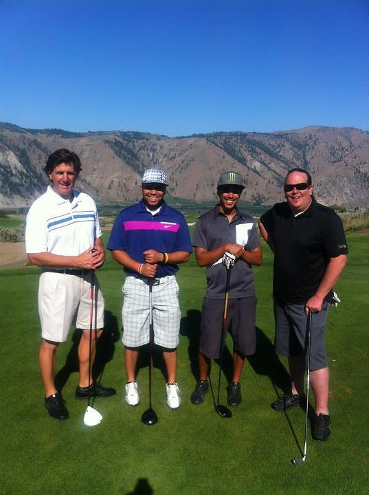 KB Golf Tournament with Hal, Josh, and Jerry