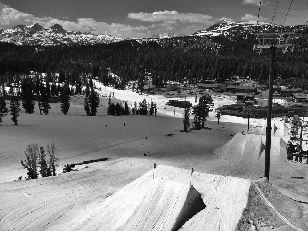 Mammoth lower park, so much fun.