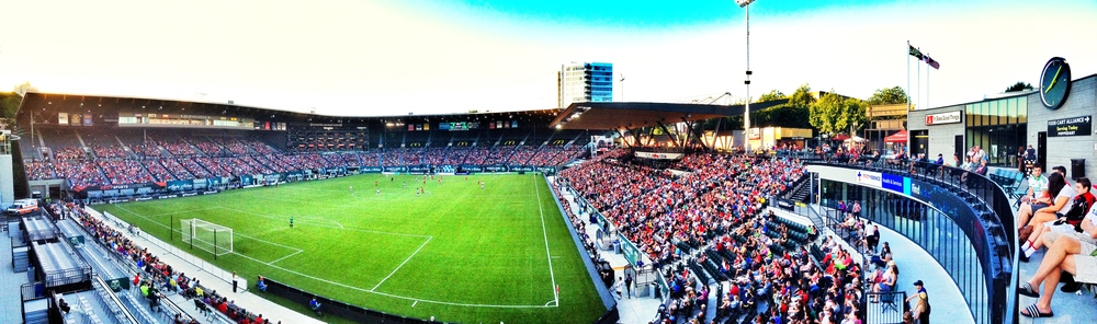 Jeld-Wen Field for the Portland Thorns game