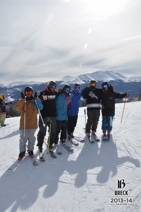 Fun day of skiing with the Phunkshun boys!
