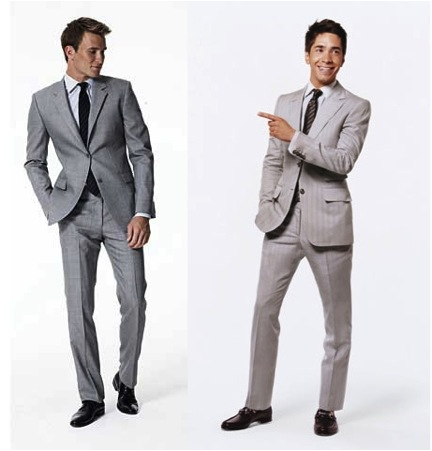 Light Grey Suit_Terno cinza claro