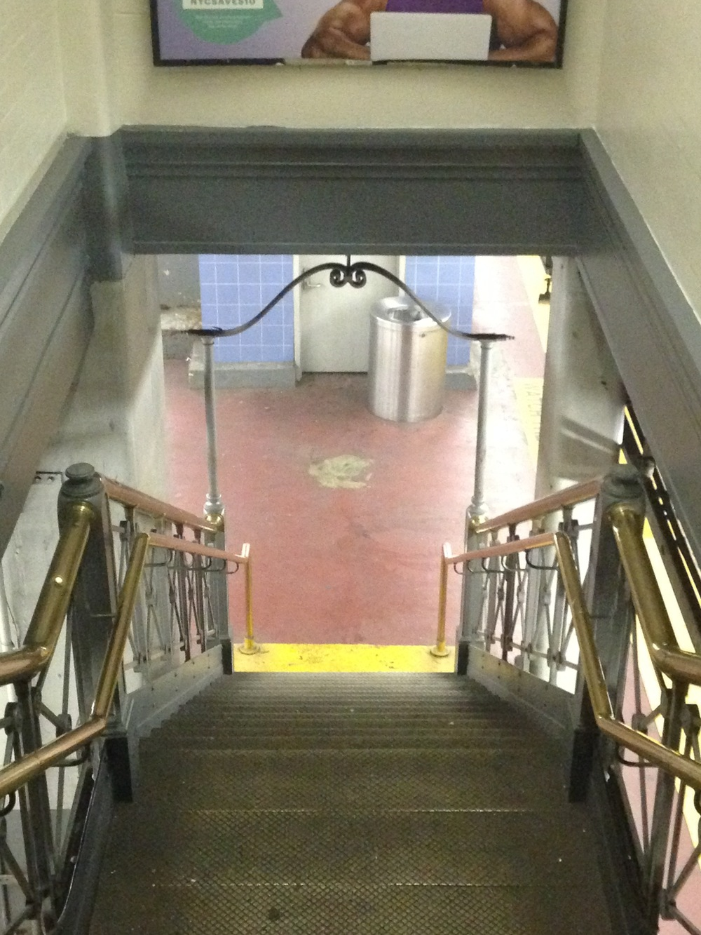 Newly discovered Penn Station remnant.