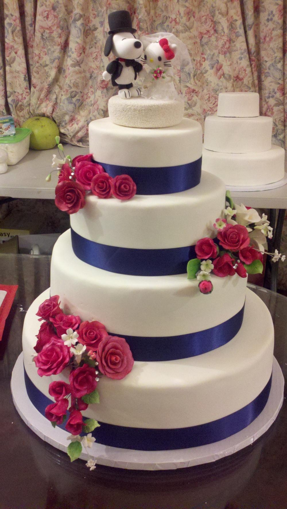 Rebecca and Dans Cake