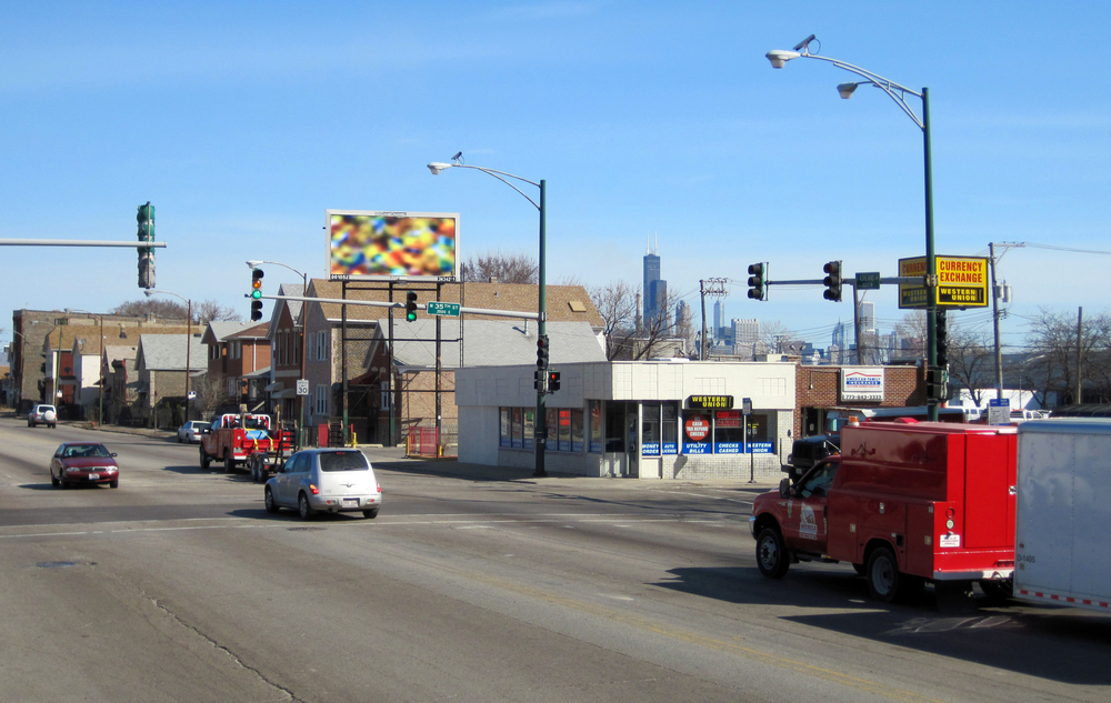 Three Billboards / Spring 2010 /35th & Ashland, Chicago