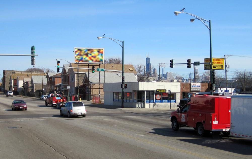 Three Billboards / 35th & Ashland / Chicago