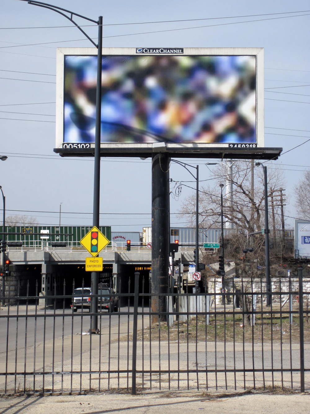Three Billboards / 63rd & State St. / Chicago