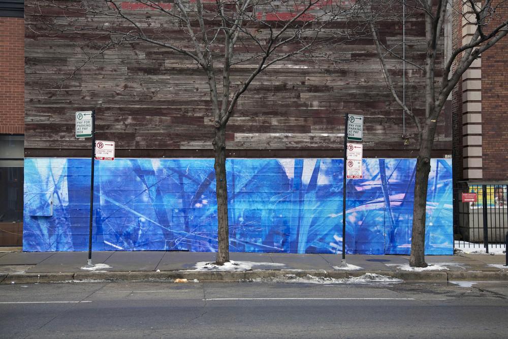 Violet Hour Mural / Chicago