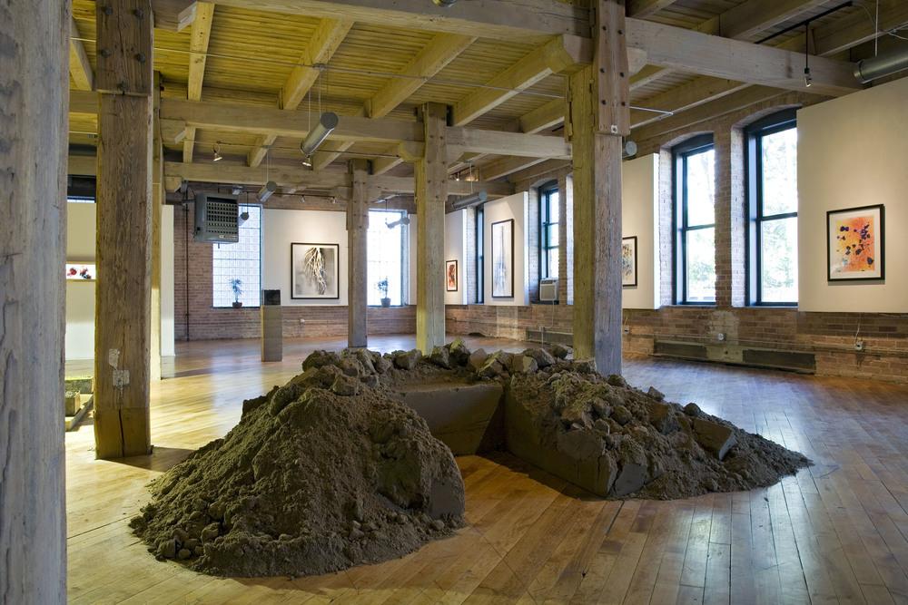 Field Work /  Dirt Throne  / Chicago Urban Art Society