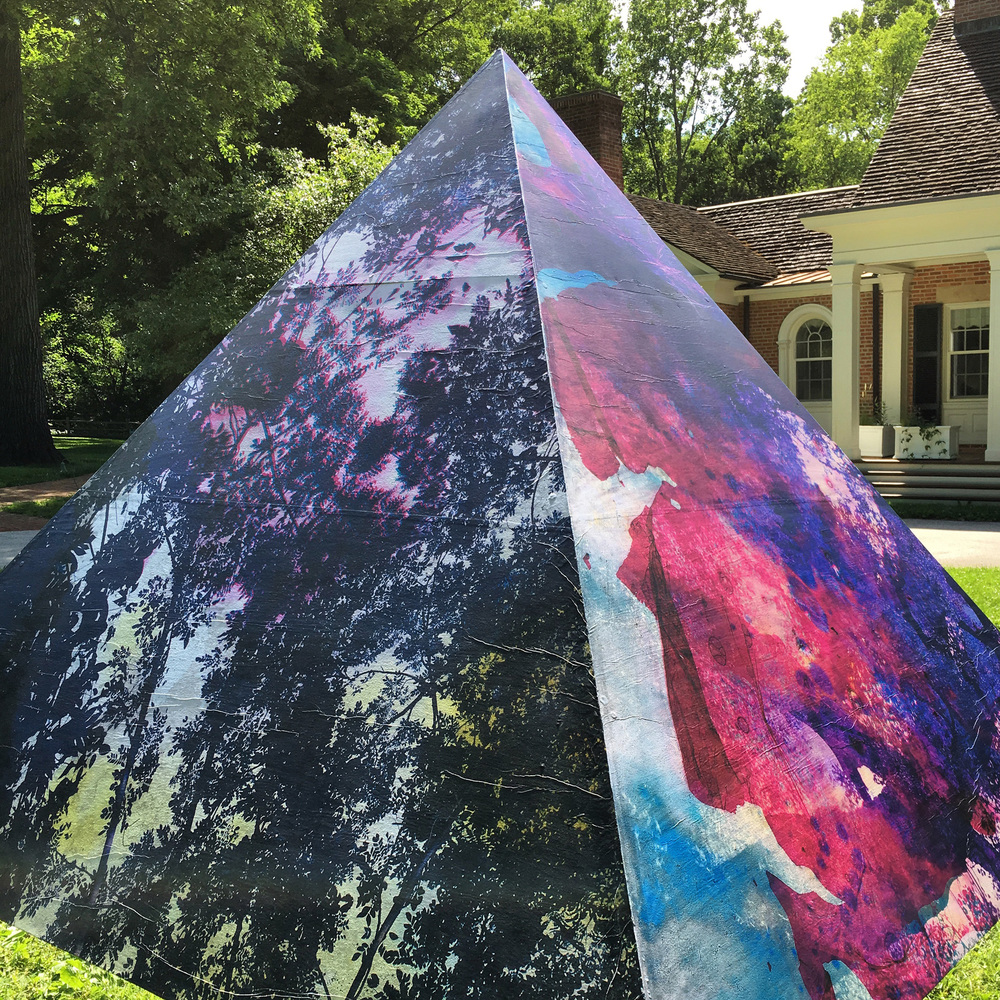 Physis  installed at Brushwood Center at Ryerson Woods (week 1)
