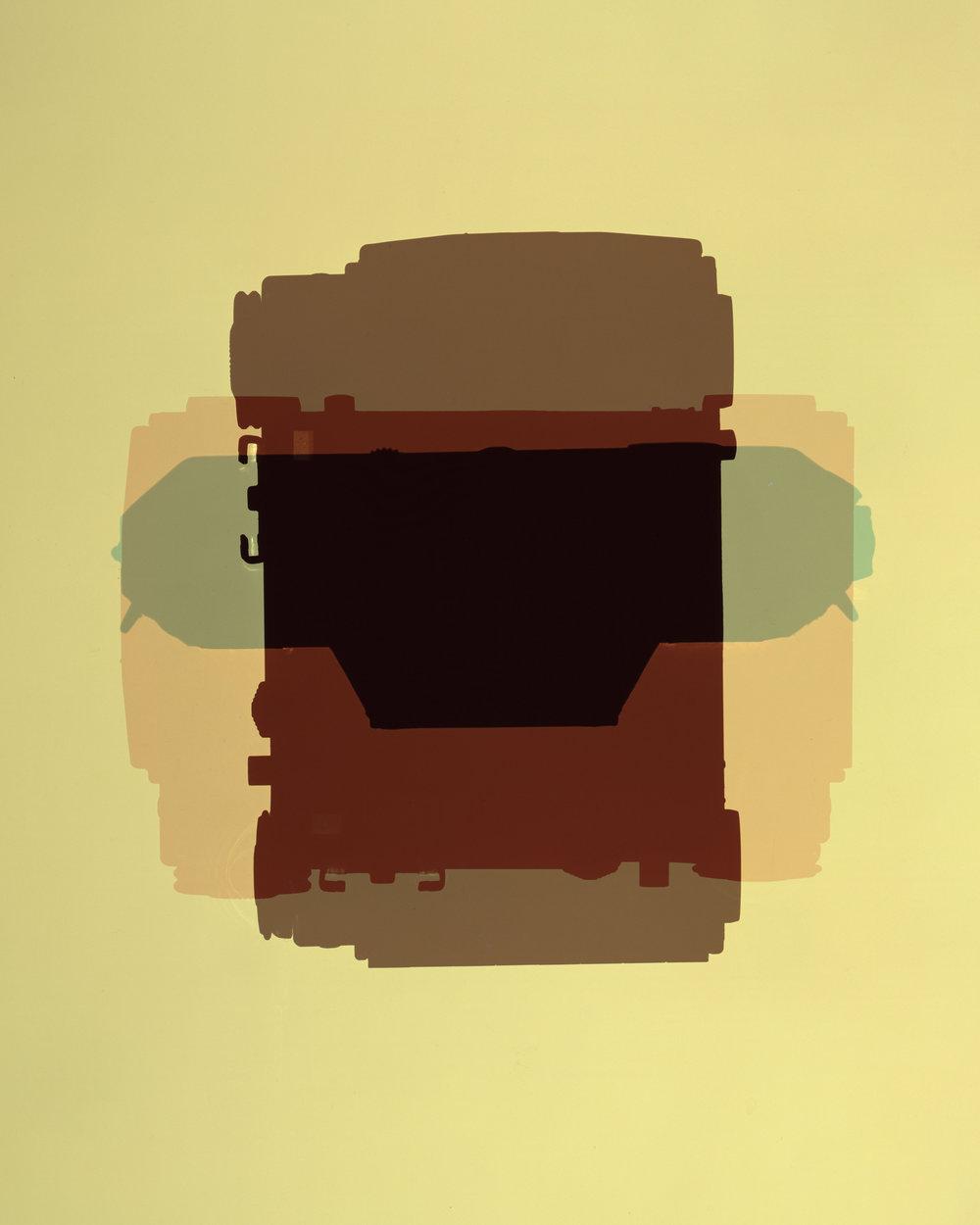 Kodak Retina IIa/ Color Photogram