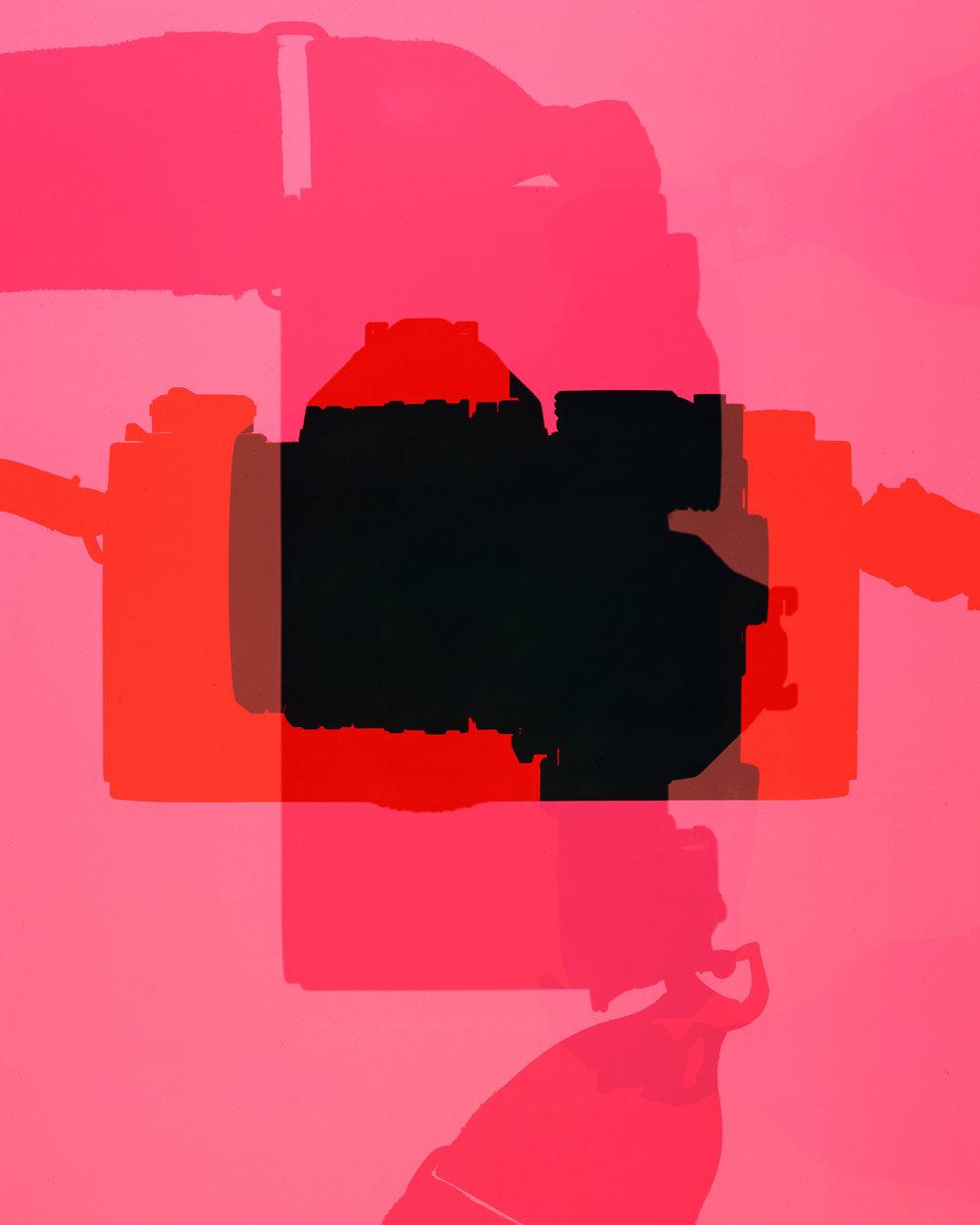 Nikon FM 35mm / Color Photogram