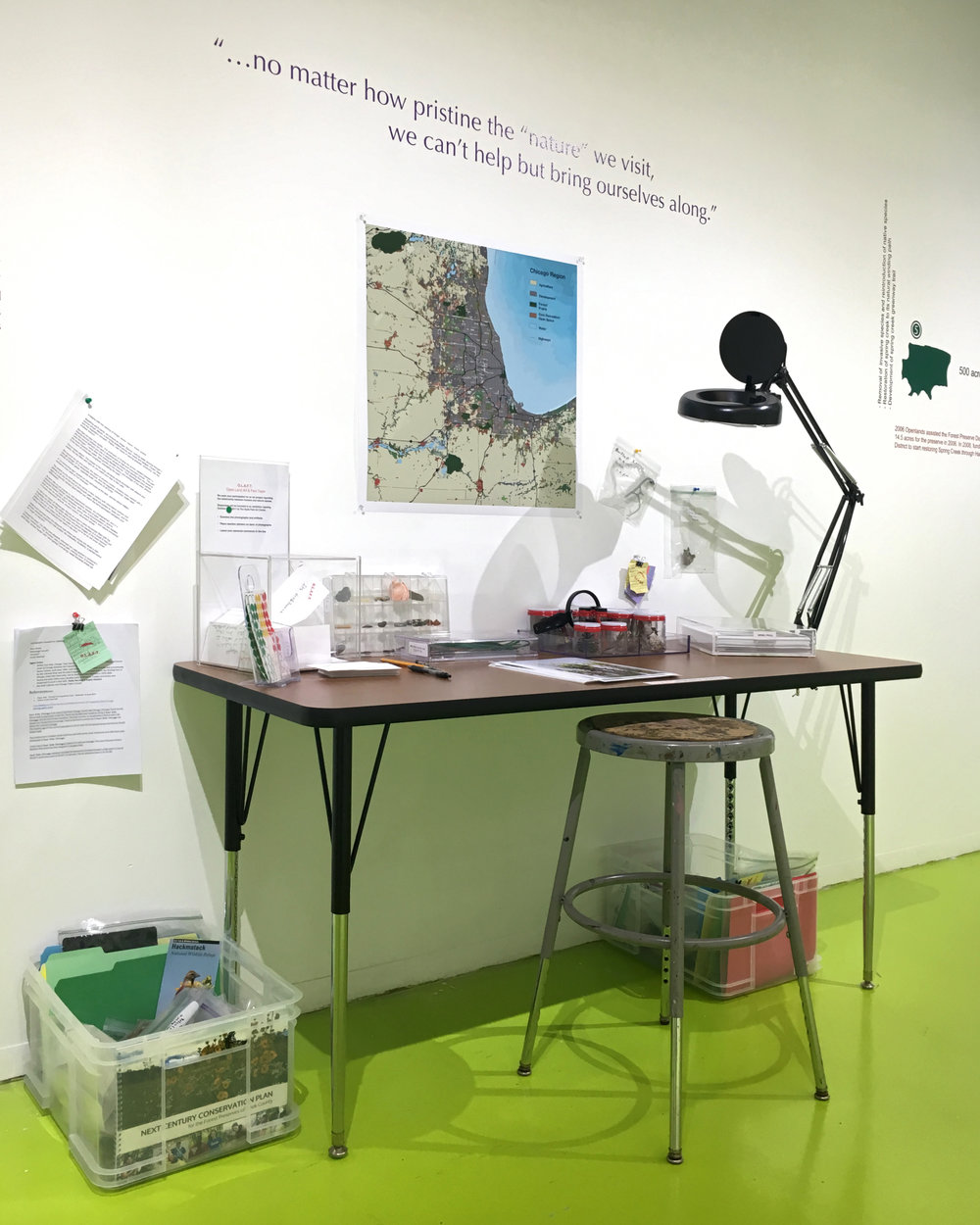 Open Land Art & Fact Team (detail)