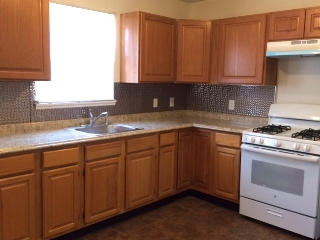 Kitchen in Rehabbed Home -