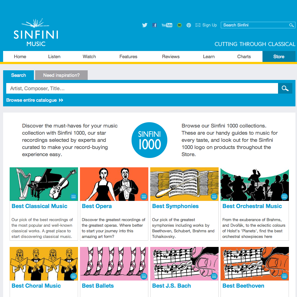 Sinfinimusic.com