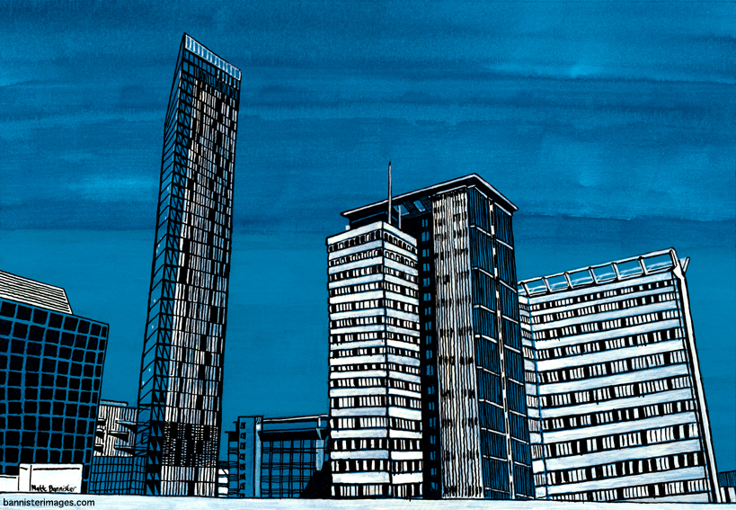 Blue Towers Croydon