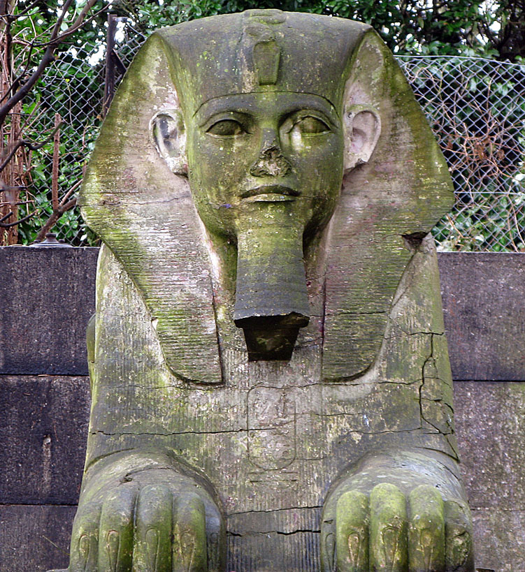 Sphinx. Crystal Palace Park.