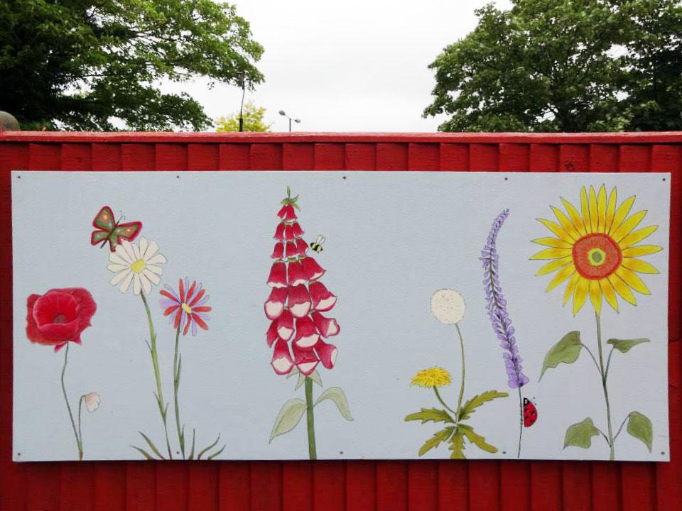 Sutton Mencap mural 1