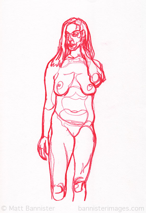 Life Drawing 29th July 2013