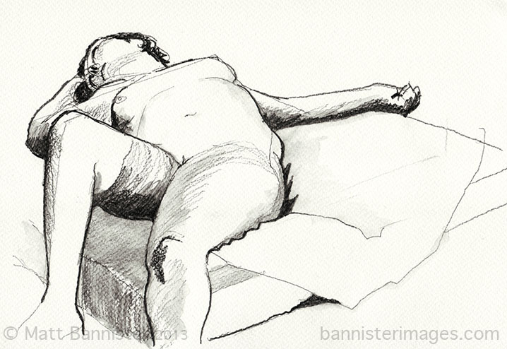 Life Drawing 9th Sept 2013