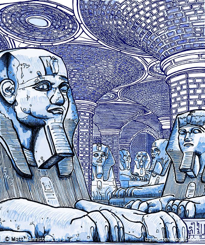 Sphinx artwork