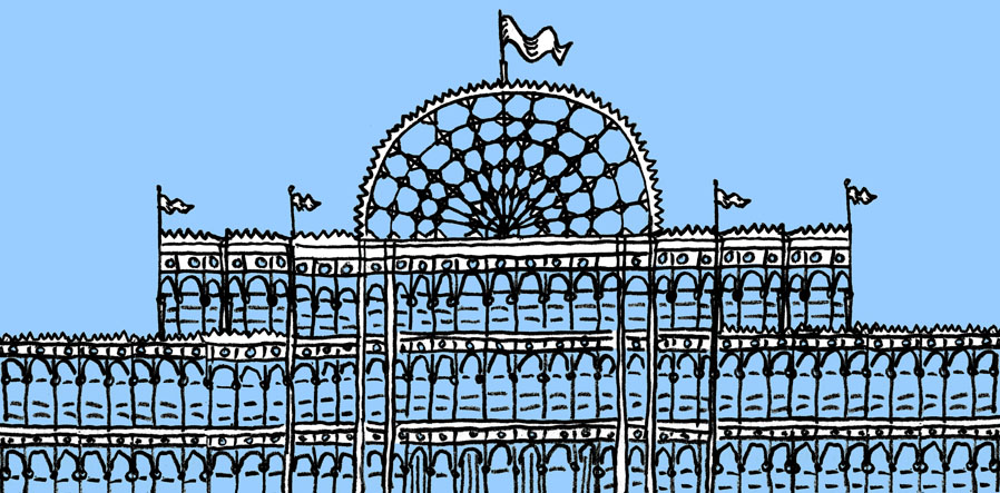 Illustration of Crystal Palace