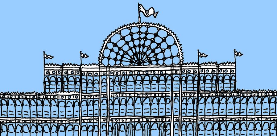 Illustration of Crystal Palace